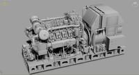 ship service diesel 3d x