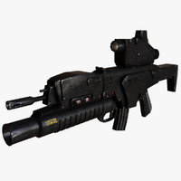 assault rifle beretta arx-160 ma