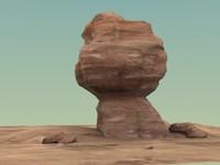 3d sandstone formation