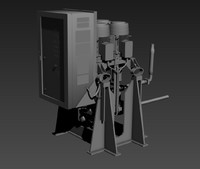mist transfer pump 3d fbx