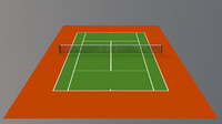 3d 3ds tennis hard court v1