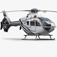 3d eurocopter helicopter
