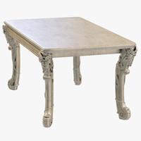 3d model kare table romantico