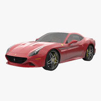 ferrari california t 2015 3d model