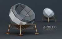 chair apollo 3d max