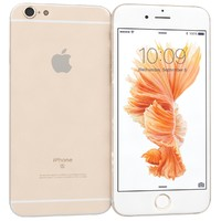 3d apple iphone 6s gold model