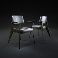 3d fauteuil-direction-1951 model
