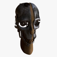 3d obj mask corvo attano
