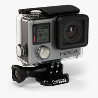 GoPro HERO4 Black Edition with Waterproof Housing