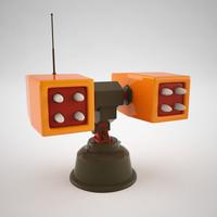 cartoon missile launcher max
