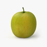 3d apple