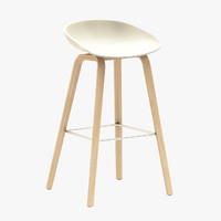 hay aas32 bar stool 3d max