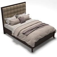 Hudson Street-Avenue Upholstered Bed-Queen