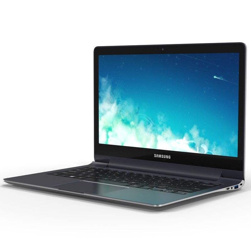 Samsung ATIV Book 9 Plus 13 inch 3d model 01.jpg