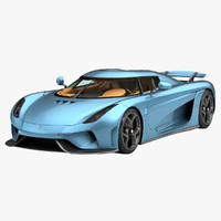 2016 koenigsegg regera car 3d model