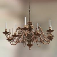 vintage chandelier max