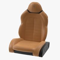 3d model ferrari seat