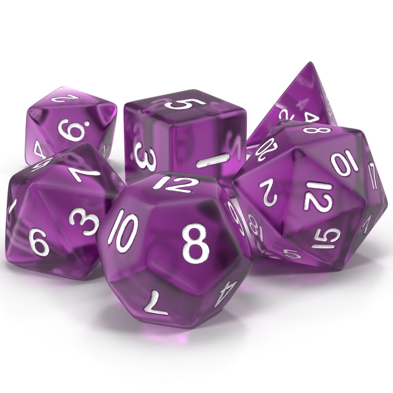 40 sided dice