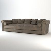 3dsmax sofa alfred baxter
