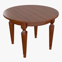 table cecilia 3d model