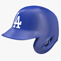Baseball Helmet Rawlings Los Angeles One Sided