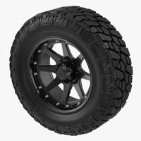 3d truck tire model