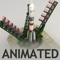 Animated Cosmodrome