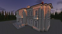 richhouse classical 3d model