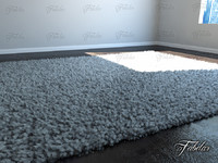 carpet modeled 3d max