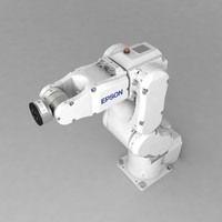 industrial robotic arm epson 3d 3ds