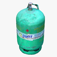3ds max gas cylinder scan