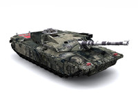 tank military g-force 3d model