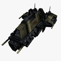 Civilian Transport Spaceship 1
