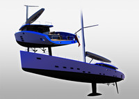 wally yacht 3d model