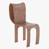 3ds max contour chair