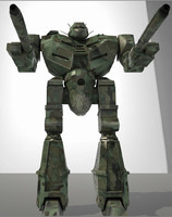 obj machines vasp mech robot