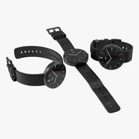 3d smartwatch moto 360 set