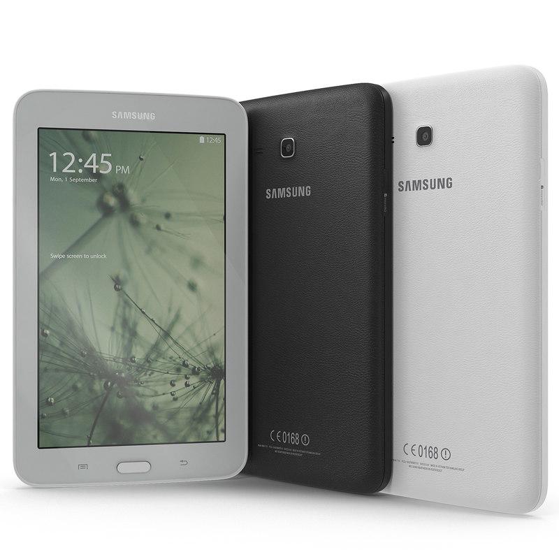 3d Samsung Galaxy Tab 3