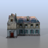 3d house baltic model