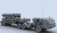5t58 transport s-400 3d max