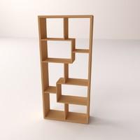3d bookshelf v2