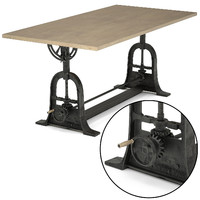 Dublin adjustable table