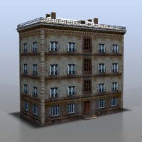 house russia 3d model
