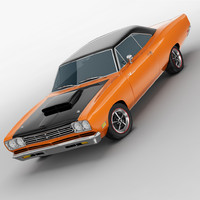 3d plymouth road runner 1969
