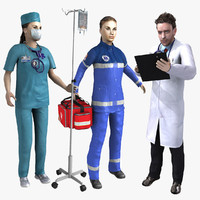 3d model doctor rigged
