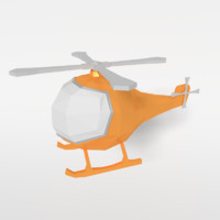 3ds helicopter toy