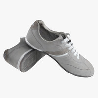 3d dokers shoes model