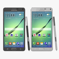 3d samsung galaxy note 4 model