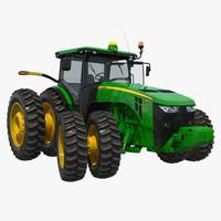 tractor john deere 8rt 3d model