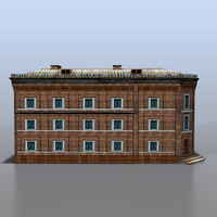 3d model of house russia
